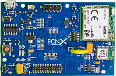 ECNX Developments FPGA based IoT board