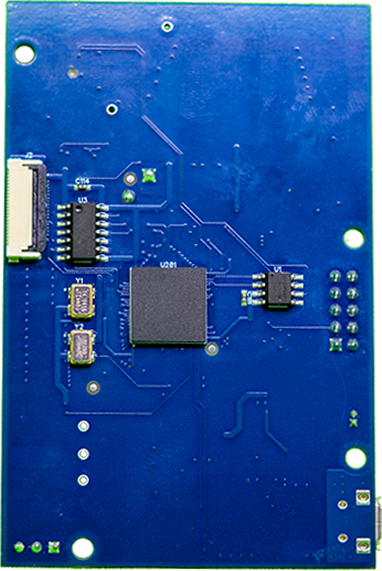 ECNXDEV IoT Board Back View